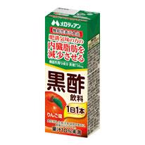 機能性表示食品 黒酢飲料 りんご味 200ml