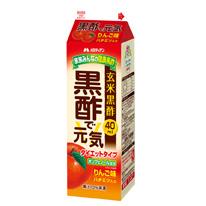 黒酢で元気 ダイエットタイプ りんご味 1L