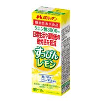 機能性表示食品 すっぴんレモン200ml